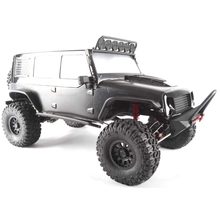 Traction hobby Cragsman Off Road Electric escala 1: 8 Trail RC crawler camión negro